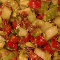 Bacon Avocado Salad - Allrecipes.com. Awful picture! This recipe looks good and also very adaptable!