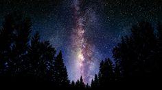 Vía Láctea desde la tierra