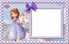 Fondos para invitaciónes de princesita sofia - Imagui