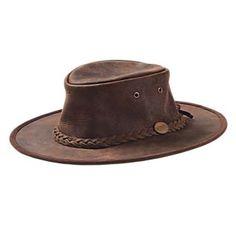 My goto Adventure Scott hat - Australian Leather Bush Hat   National Geographic Store