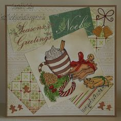 For details of products used to make this card please go to my blog.:-  http://kraftykoolkat.blogspot.co.uk/2015/09/a-little-bit-festive-just-for-me.html Thank you Hugs Cathy xxxxx