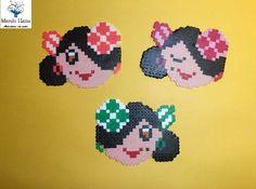 Flamenca Gipsy Perler Beads, Cross Stitch Boards, Pony Beads, Beading, Ikea, Charms, Girls, Anime, Women