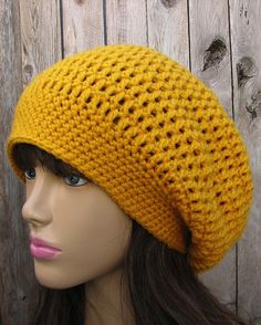 crochet pattern...ugly colour, cute hat @Tricia Leach Leach McMullan