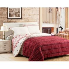 4-piece luxury cotton bedding sets Northern Scenery