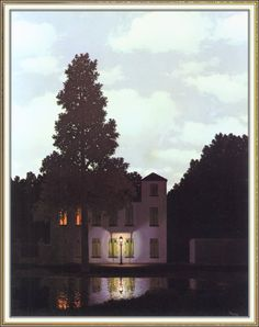 "RENE MAGRITTE Surrealism Art Poster or Canvas Print /""The Rights of Man/"""