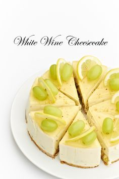 White Wine Cheesecake