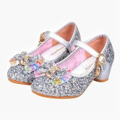 uBabamama Kids Girls Sandals Crystal Shoes, Pearl Sequins Rhinestone Decor Princess Shoes for Party Wedding Butterfly Shoes, Flower Girl Shoes, Baby Girl Shoes, Kid Shoes, Girls Shoes, Flower Girls, Girls Sandals, Shoes Sandals, Bling Shoes