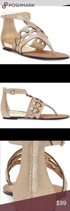 1a6033ff29c6b9 Vince Camuto Arlanian Flat Sandals NEW - 5.5 wedge Brand new in box. Vince  Camuto