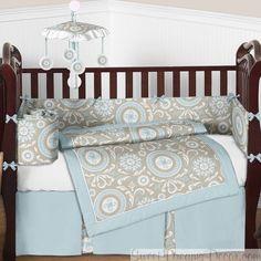 Hayden Neutral Baby Bedding Set