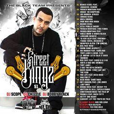 Various Artists - THE BLACK TEAM PRESENTS STREET KINGZ 51 HOSTED BY DJ SCOPE ,DJCHIZZLE,DJ BOBBY BLACK