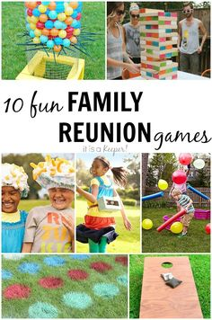 10 Fun Family Reunion Games for all ages to add some excitement to your next gathering!