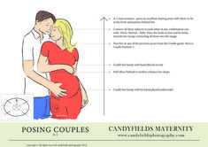 How to pose couples ideas for pregnancy portraits - A free guide that explains how to take pregnancy, maternity and bump portraits with free posing guides as PDF or JPG Maternity Studio, Maternity Poses, Maternity Portraits, Maternity Pictures, Maternity Styles, Maternity Photography Tips, Newborn Photography, Pregnancy Images, Couple Pregnancy Pictures