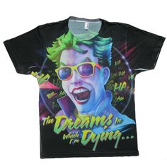 ~~ Free shipping on 2 or more items: use 2NERDY at checkout!~~  In this TODDLER t-shirt inspired by The Joker and his love of a Mad World, his