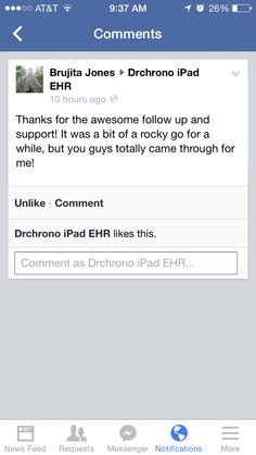 A great review of drchrono!