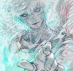 Cells at Work!, cancer cell, so cool! / ���� - pixiv Anime Demon, Manga Anime, Anime Art, Character Art, Character Design, Ecole Art, Anime Kunst, Handsome Anime, Blood Cells