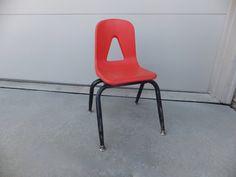Griggs Childs School Desk Chair Desk Chair Kids by RetroVintageous
