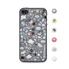 id America_Cushi Cloud iPhone 4/4S Pad