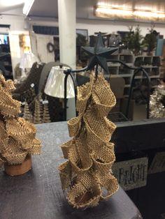 Material Christmas tree.