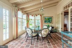 Heart Pine Flooring, Pine Floors, Old Town Alexandria, Old Houses For Sale, Virginia Homes, Back Patio, Brick Fireplace, Historic Homes, Home Renovation