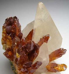 Orpiment with Calcite from Shimen Mine, Hunan Prov., China [db_pics/pics/a446c.jpg]