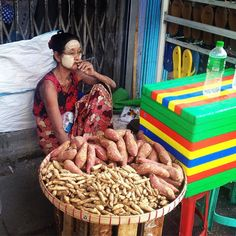 Sitting back smoking a cheroot. #facesofyangon #myanmar #peoplewatching #travel #photojournalism