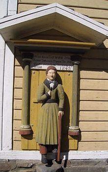 Lappajärvi Finland Travel, Folk Art, Past, Wooden Sculptures, Statue, Countries, Image, Past Tense, Popular Art