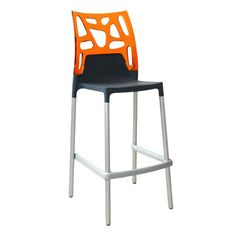Ero Rock Bar Chair, Set of 4