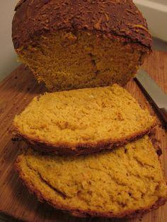 Pumpkin-Parmesan Wheat Bread