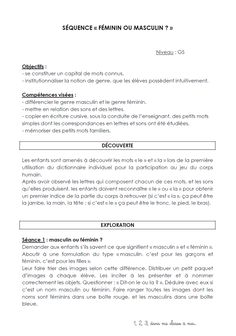 undefined Cursive, Le Genre, Grande Section, Simple Words, Spelling, Language