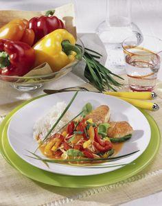 Unser beliebtes Rezept für Putensteaks mit Paprika-Gemüse (Diabetiker) und mehr als 55.000 weitere kostenlose Rezepte auf LECKER.de.