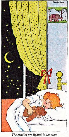 My Puzzles - Children - Vintage - Girl Sleeping 1920s