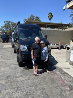 """Bob & Fran are you ready to start a new adventure with your new 2016 AIRSTREAM INTERSTATE! Wishing you many """"Miles of Smiles"""" from all of us here at Conejo RV & The Conejo Rv Team. Airstream Interstate, Rvs For Sale, New Adventures, Southern California, Motorhome, 20 Years, Baby Strollers, Bob, Baby Prams"""