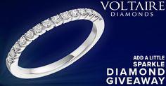 """Add A Little Sparkle"" Diamond Giveaway"