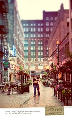 Cleveland Summer Engagement Session Photography