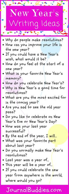 Help students aim for their goals with these New Year's journal prompts. Through reflections and resolutions, they'll be ready to take on new challenges in the new year. Writing Prompts For Kids, Writing Activities, Writing Tips, Teaching Tools, Teaching Resources, Teaching Writing, Creative Teaching, Teaching Ideas, Journal Topics