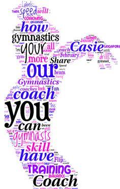 gymnastics word cloud - Google Search