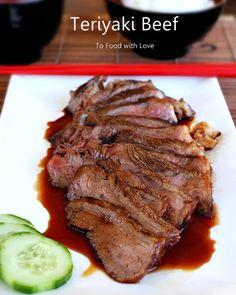 Grilled Beef with Teriyaki Sauce