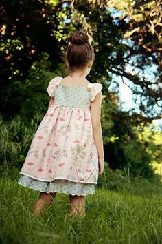 Kate Dress, Top & Shorts Pattern by VFT