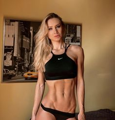 La imagen puede contener: 2 personas Sport Outfits, Fit Women, Bra, Clothes For Women, Woman, Fitness, Sports, Instagram, Fashion