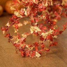 Miniature Oak Leaf Roping Garland