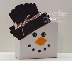 Debbie's Designs: 12 Days of Christmas Treat Holders-Day 9!