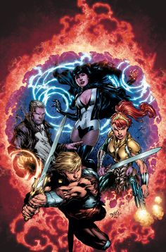 Justice League Dark & He-Man, Master of the Universe by Ed Benes