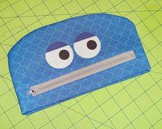 Spacefem: Monster pencil case tutorial