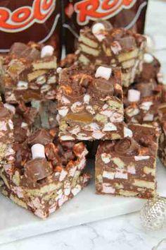 Chocolate Traybake, Chocolate Easter Cake, Janes Patisserie, Rocky Road, Original Recipe, Tray Bakes, Cake Recipes, Sweet Treats, Hungry Hungry