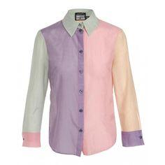 House of Holland $295 colour block shirt