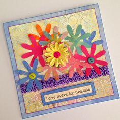handmade greeting card lisalizalou.com