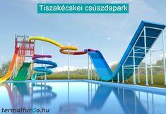 Az új csúszdapark Tiszakécskén! Nézzétek meg ti is a legújabb cikkünket, kattints a képre! Park, Parks