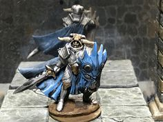 Reaper Bones Review: Antipaladin (*****) Reaper Miniatures, Fantasy Miniatures, Warhammer Paint, Call Of Cthulhu, Michael J, Paladin, Rogues, Knight, Lion Sculpture