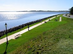 Victoria Park, Charlottetown, P.I Canada.where Camille threw snails at me. East Coast Canada, Pei Canada, Holiday Places, Prince Edward Island, Going Away, Travel Bugs, Canada Travel, Places Ive Been, Beautiful Places