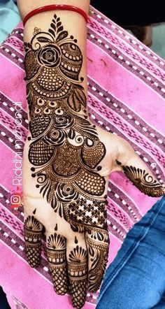 Stylish Mehndi Designs, Wedding Mehndi Designs, Mehndi Design Images, Arabic Mehndi Designs, Mehandi Designs, Finger Henna, Hand Henna, Cute Baby Videos, Mehendi